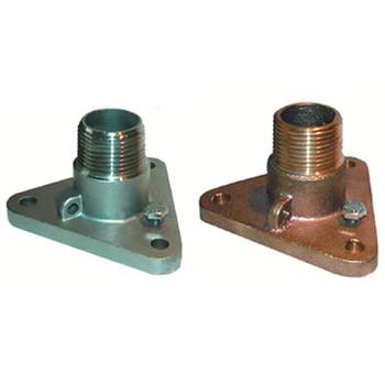 """Groco NPT Treads Bronze Flange Adaptor, 3/4"""", 1"""", 1-1/4"""""""