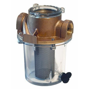 "Groco Raw Water Strainer with #340 SS Basket 3/4"", 1"", 1-1/4"""