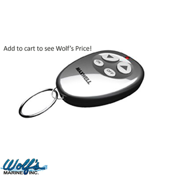 Maxwell Compact Wireless Remote Windlass Controller