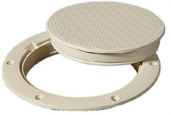 """Tempress 8"""" Ivory Snap-in Deck Plate 04626"""