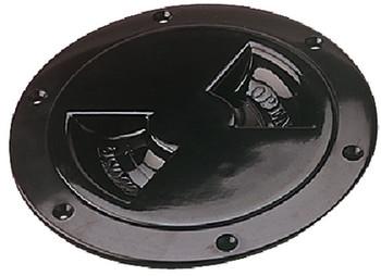 Sea Dog 337165-1 ABS Black Standard Deck Plate 6 in.