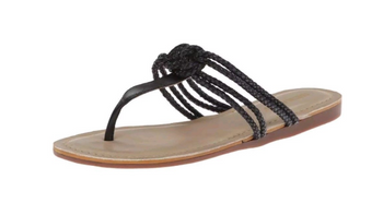 Sebago Women's Black Poole Knot Sandal