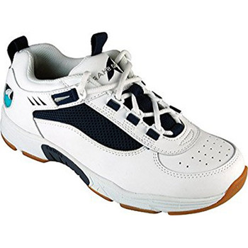Rugged Shark Men's Marlin2 Athletic Boat Shoe (White/Navy) RS-MARLIN2