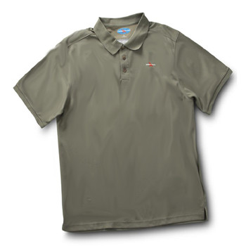 Rugged Shark® Men's Sand Tiger Shark Polo Shirt (Sage)  5101011
