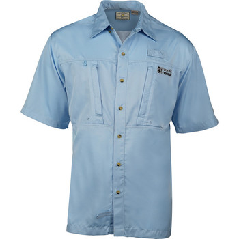 Hook & Tackle® Men's Pierpoint Shirt (Blue) M01000S