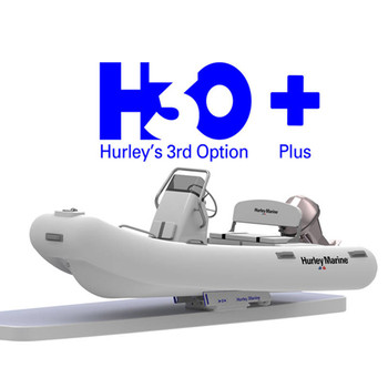 Hurley Davits H3O+ (PLUS) Dinghy Davit with Electric Winch