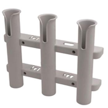 Sea Dog 3 Pole Side Mount Rod Holder/Storage Rack - White  325038-1