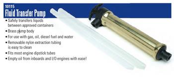 Scepter Brass Fluid Transfer Pump
