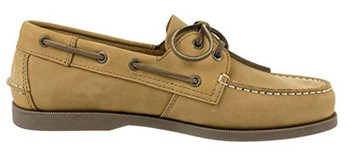 Rugged Shark Men's  Classic Boat Shoe