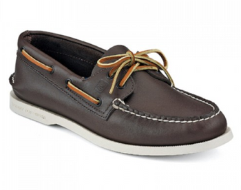 Sperry A/O Boat Shoe (Brown)