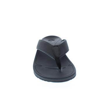 Body Glove Men's Ridgeline Flip Flop Sandals (Black Charcoal)