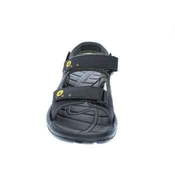 Body Glove Men's Adjustable Trek Sandal (Black/Yellow)