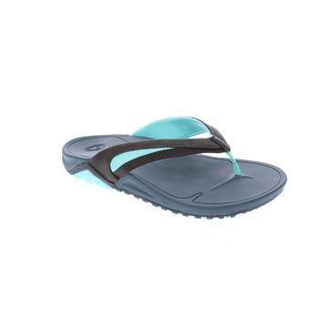 Body Glove Women's Sway Flip Flop Sandals (Brindle/Glacier Mint)