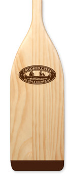 Crooked Creek New Zealand Pine Wood Paddle