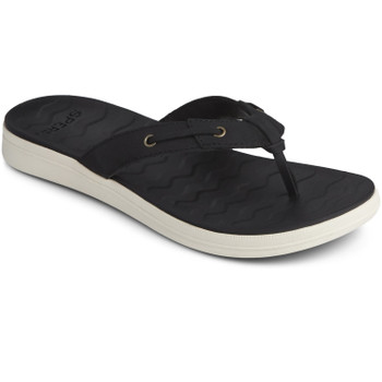 Sperry Women's Adriatic Skip Lace Leather Flip-Flop Sandals