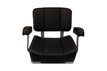 Deluxe Captain's Chair-Black