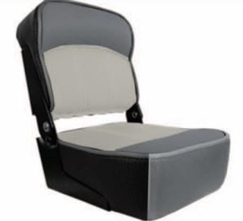 Springfield Folding Casting Seat Gray/Charcoal