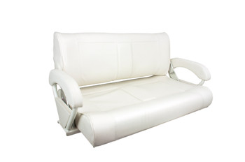 Double Bucket Chair White