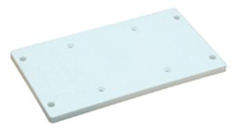 Todd Polyethylene Mounting Plate