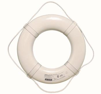 """Jim Bouy 30"""" White Life Ring"""