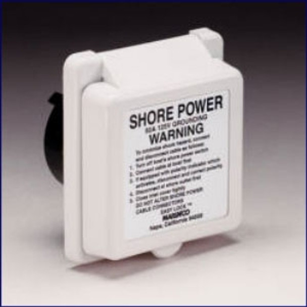 Marinco 50 Amp 125 Volt Standard Power Inlet