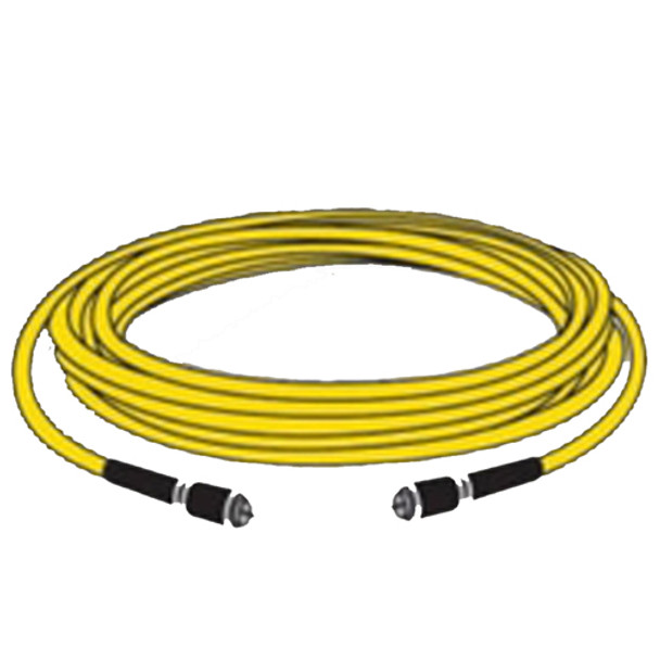 Marinco TV Cable Cordset 25' White  TV99W-25 Note: Yellow shown, but this cordset is WHITE.