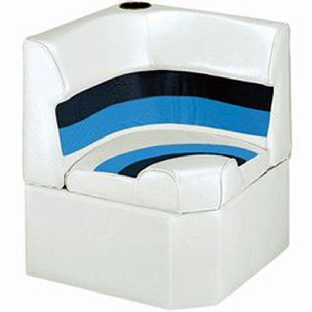 Wise Deluxe Pontoon Corner Lounge Seat w/Cupholder  WD130