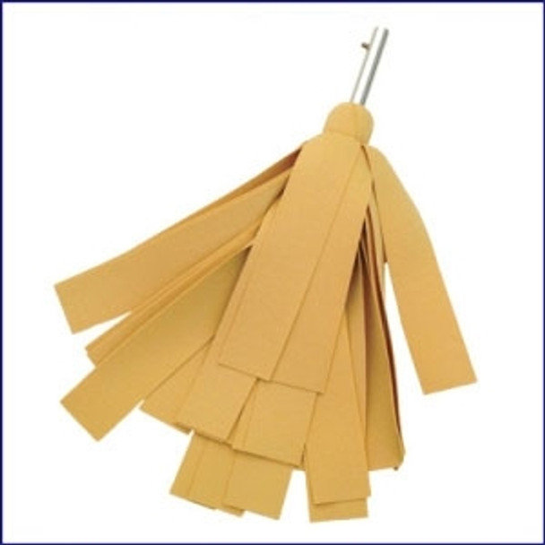 "Swobbit SW31315 Uni-Snap Drying Mop with 2"" Strips"