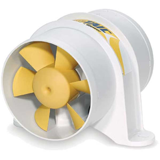 """SHURflo YELLOWTAILâ""""¢ 4""""  In-line Blower (12 VDC)  277-4110"""