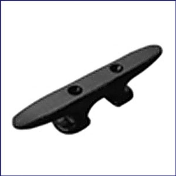 "Sea Dog 8"" Black Nylon Heavy Duty Open Base Cleat  043380-1"