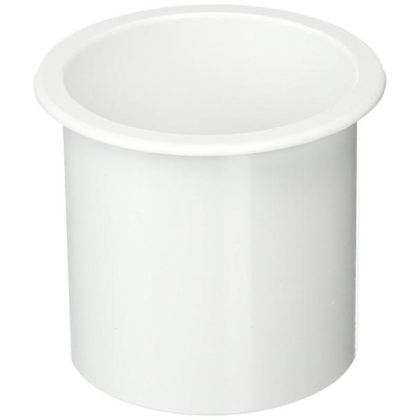 "Sea Dog ABS Flush Mount White Drink Holder 2-7/8""  588011-1"