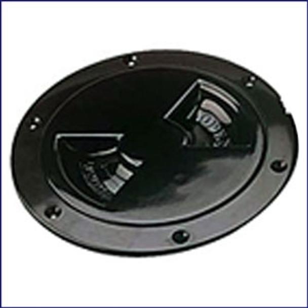 Sea Dog 337145-1 ABS Black Standard Deck Plate 4 in.