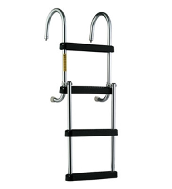 Garelick 12350 Removable Folding Pontoon Boarding Ladder