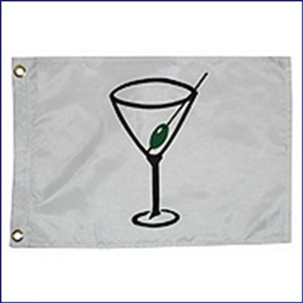 "Taylor Made 12"" x 18"" Novelty Cocktail Flag  9118"