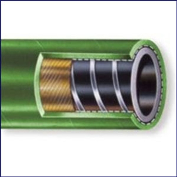 Nova Flex 104OB-01500 1 1/2 in Odor Block Green Rubber Sanitation Hose