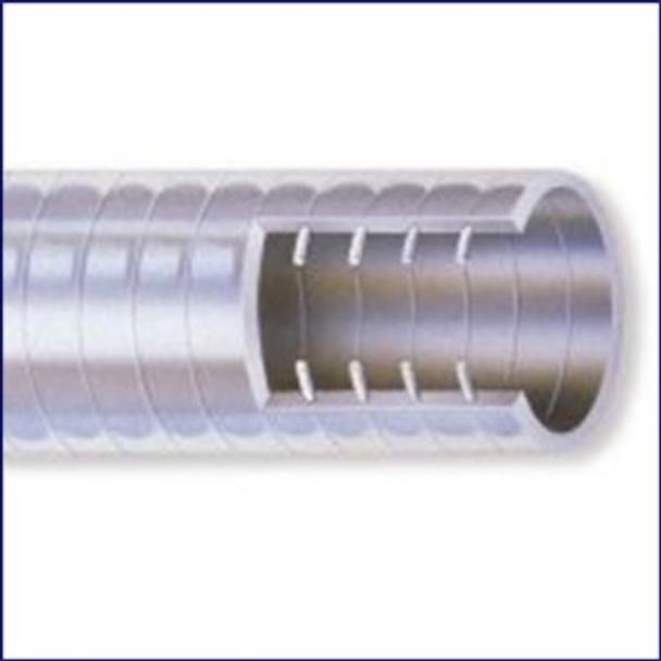 Nova Flex 144WL-01000 1 in Odor Protector White PVC Sanitation Hose