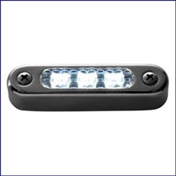 "Attwood 3"" LED Transom Light Oval Horizontal Mount 6343SS1"