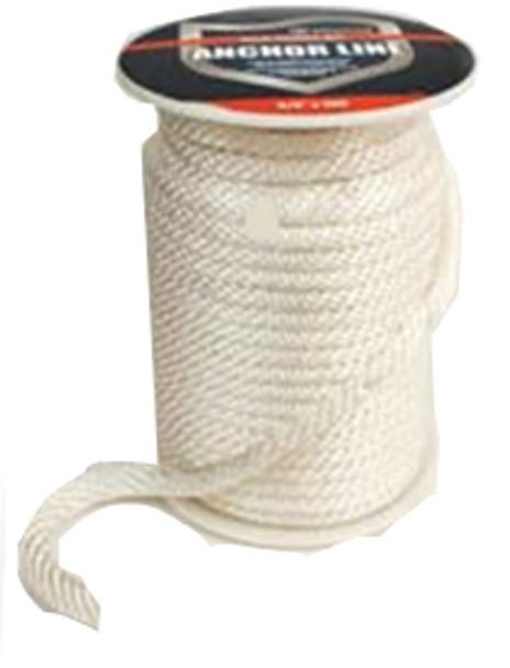 "Attwood 1/2"" x 500' Solid Braid Nylon Rope  117552-1"
