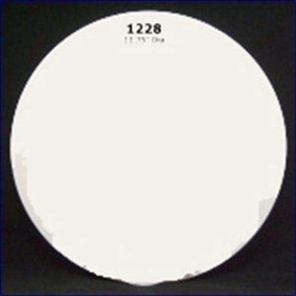 Plasform 1228 11.75 in. Cover Plate - White