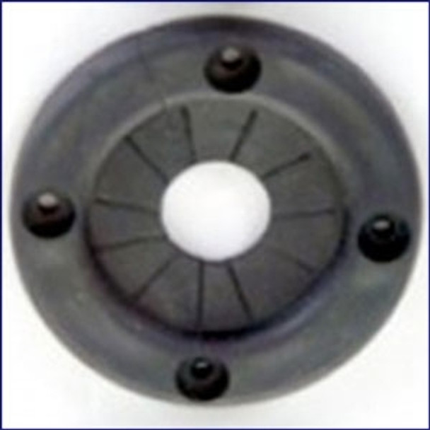 Plasform 1100 2.75 in Black Rope Cable Grommet