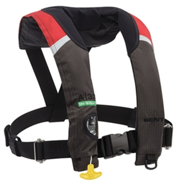 Kent 133400 A/33 In-Sight Automatic Inflatable Life Jacket Red