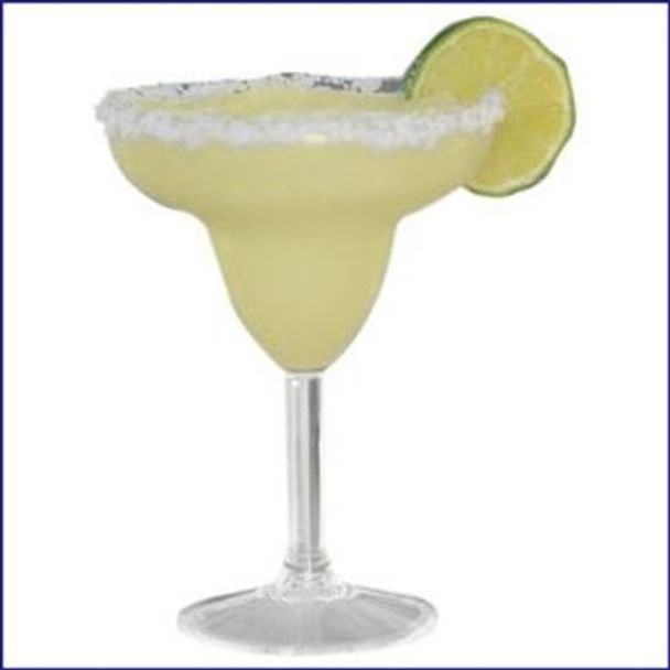 12 oz. margarita glasses, 2 pack