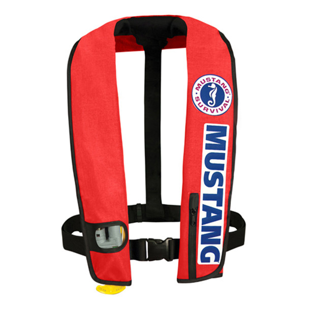 Mustang MD3087 BC BASS Competition Deluxe Inflatable Vest PFD Automatic Activation (only 1 left in stock)
