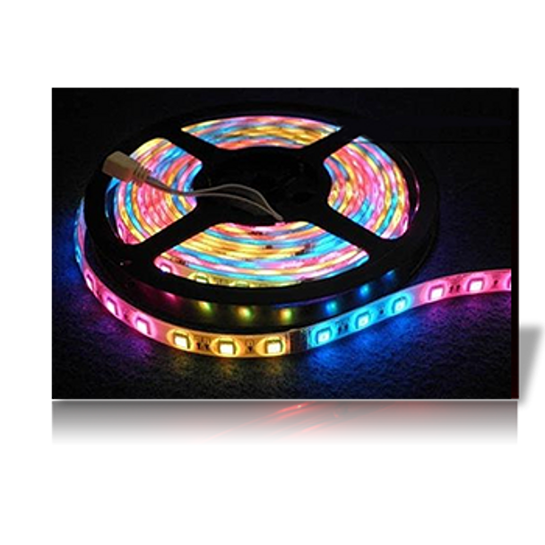 Lunasea Waterproof IP68 LED Strip Lights Red/Green/Blue  LLB-453M-01-02