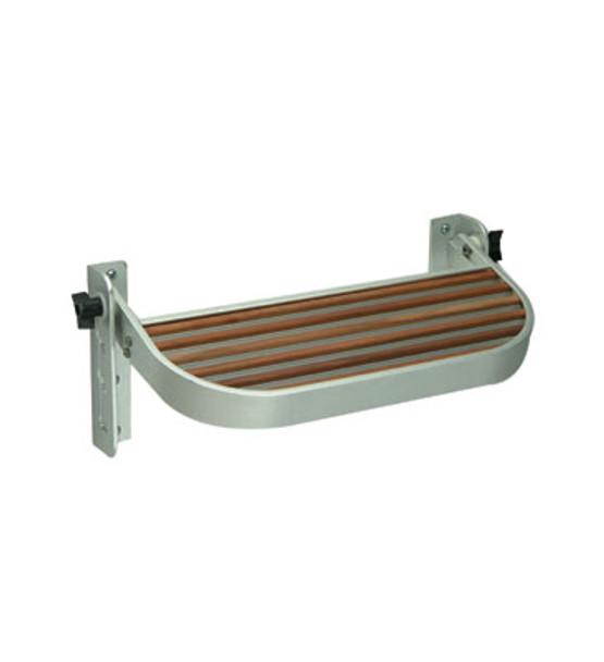 Garelick  Adjustable Rounded Teak Footrest  27516-01
