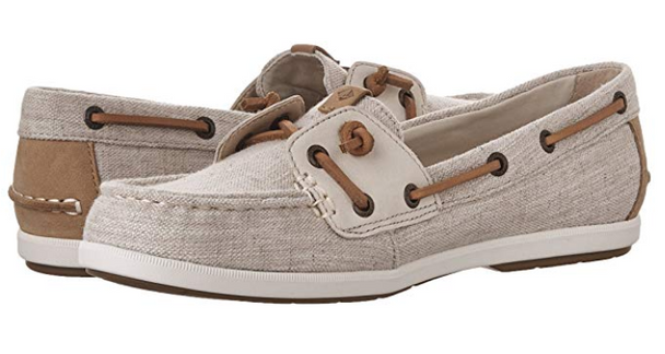 Sperry Coil Ivy Boat Shoe - Canvas Oat