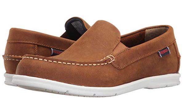 Sebago Women's Litesides Slip-on (Medium Brown Leather)