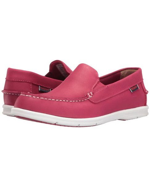 Sebago Women's Litesides Slip-on (Dark Pink Leather)  B411983