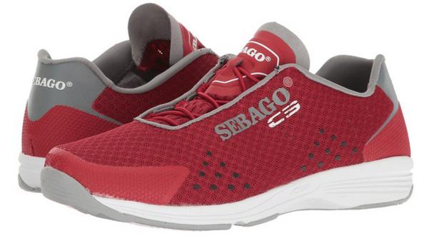Sebago Women's Cyphon Sea Sport (Red/Grey)