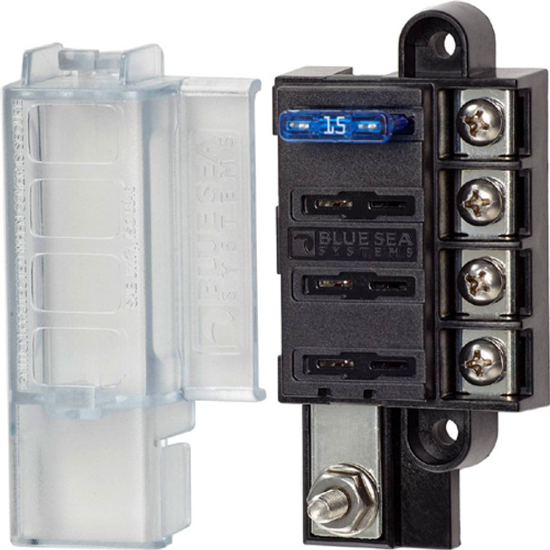 Blue Sea Systems ST Blade Compact Fuse Blocks  5045 5046